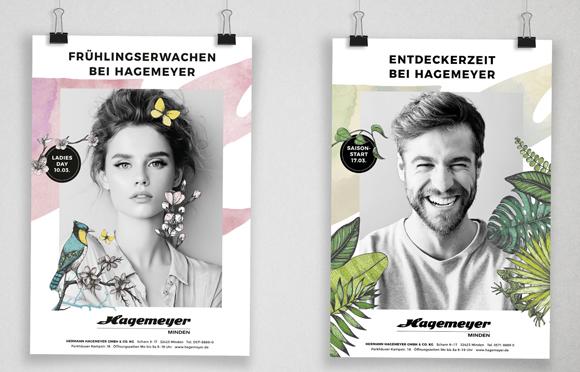 Feuerland - Agentur für bessere Kommunikation Modehaus Hagemeyer